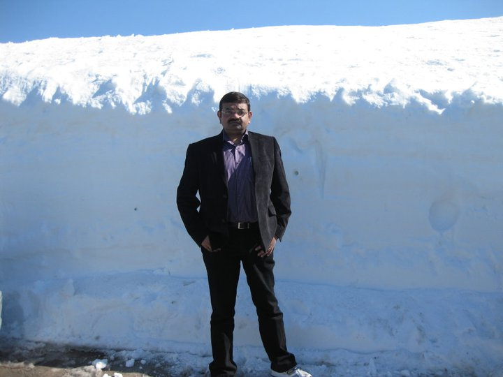 Snow at Faraya