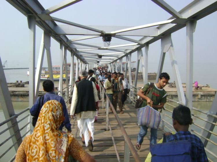 Gangasagar: On the way to ride the boat