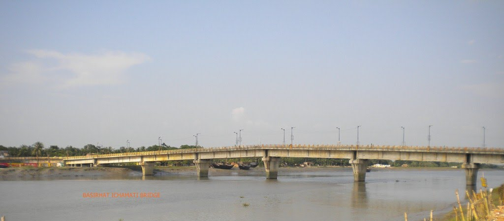 Ichhamati River in Basirhat
