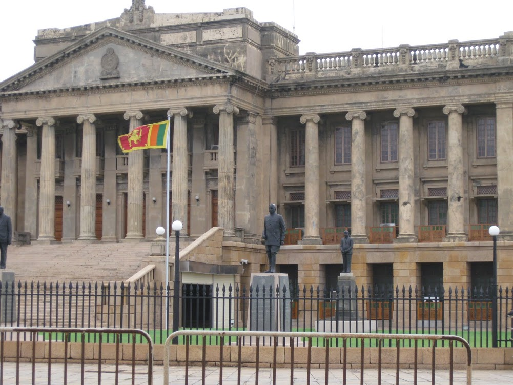 Colombo Fort Presidential Secretariat Building in Sri Lanka: