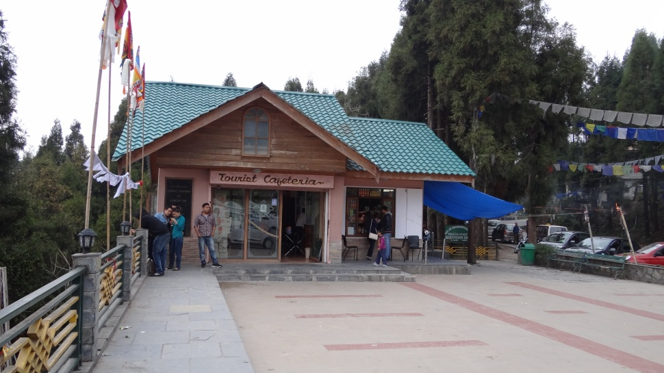 cafeteria at Ganesh Tok