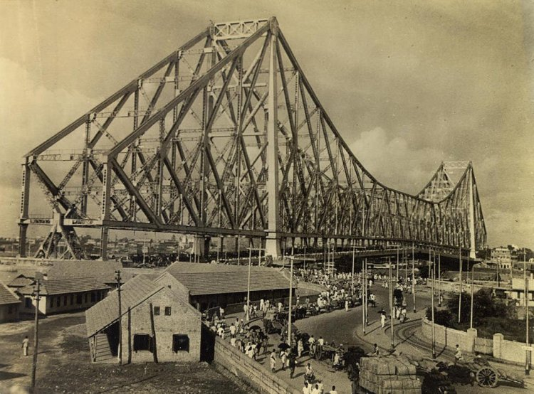 Howrah Bridge, Kolkata, 1940