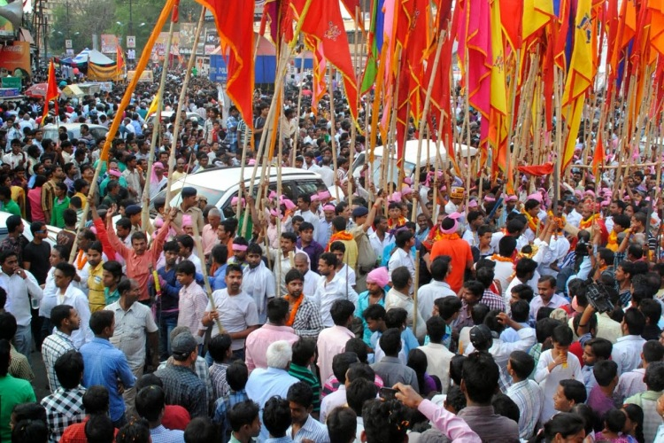 Ram Navami Procession in Ranchi