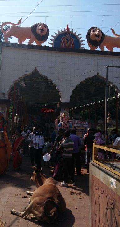 Main Entrance to the temple hill