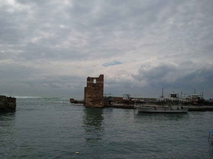 The old seaport at Byblos