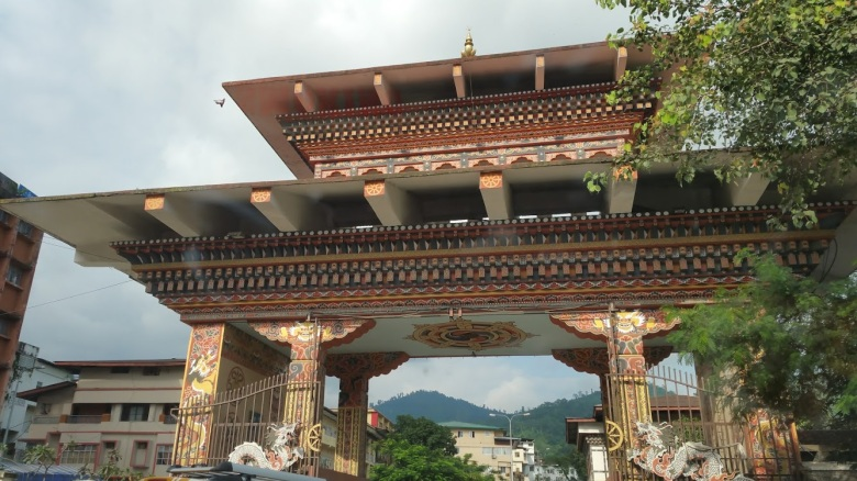 The beautiful Bhutan Gate