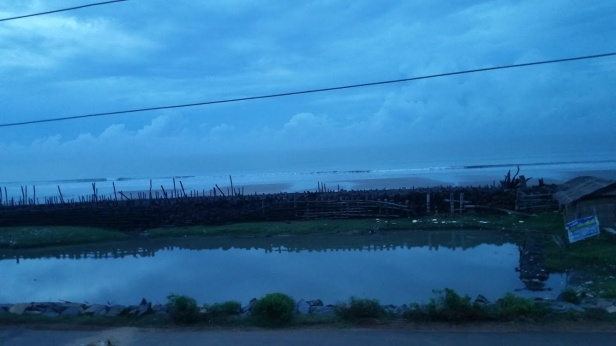 Morning sky at Chandpur