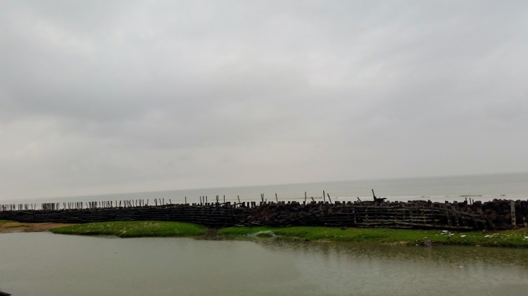 Offshore breakwater at Chandpur
