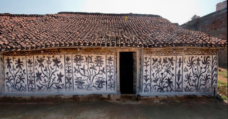 khovar wall painting