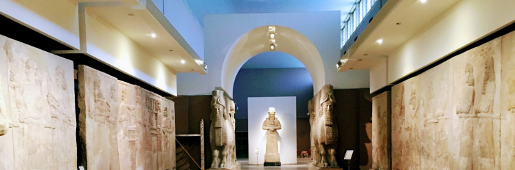 The Assyrian Hall, National Museum of Iraq, Baghdad