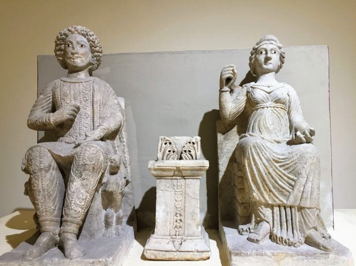 God and Goddess of Hellenistic era from Hatra (c. 312-139 BCE)