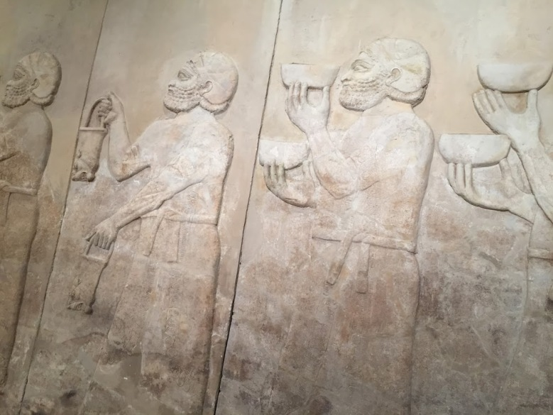 The palace reliefs