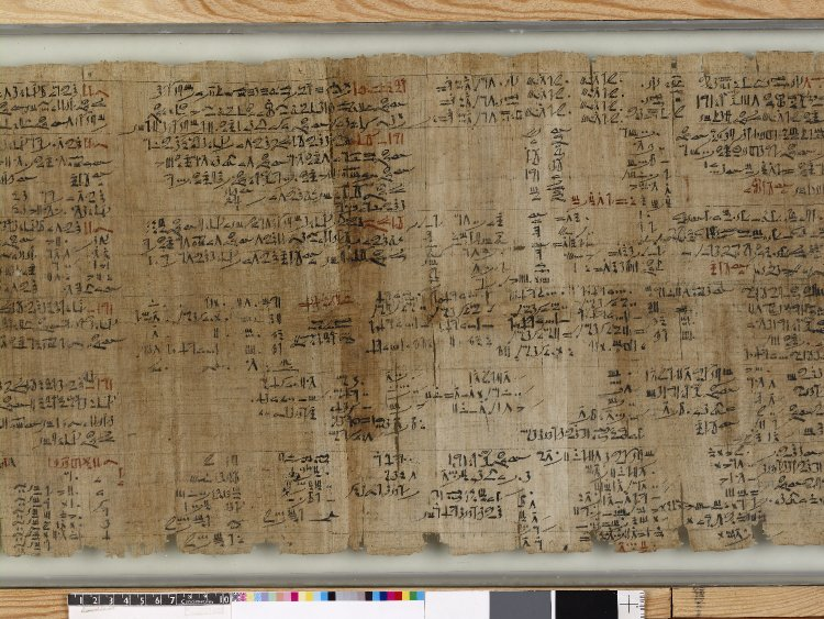 AN00766075_001_l Rhind Mathematical Papyrus