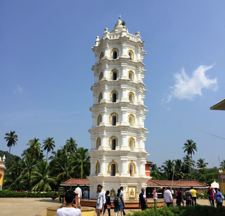 The Deepastambha or the lamp tower