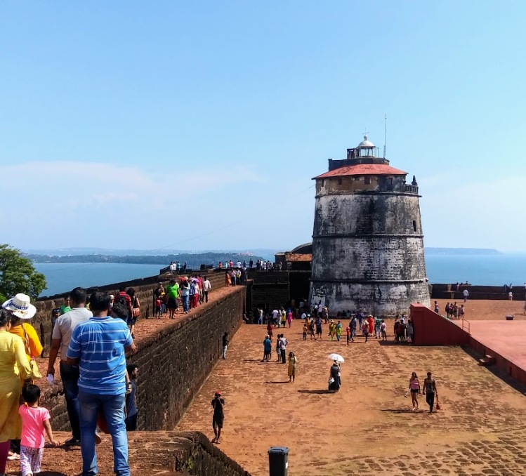 Aguada Lighthouse, Goa