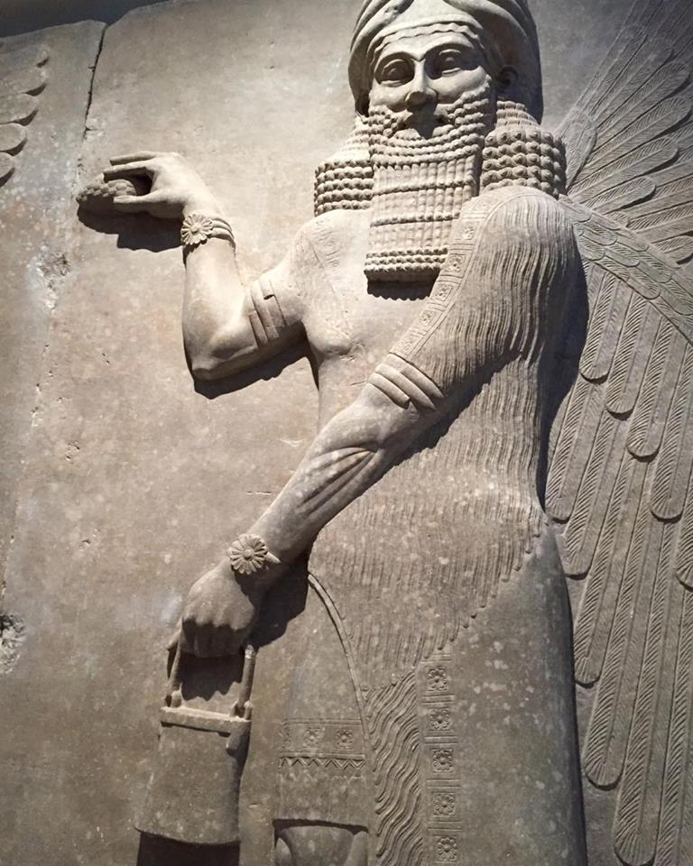 Winged Genie of Assyria