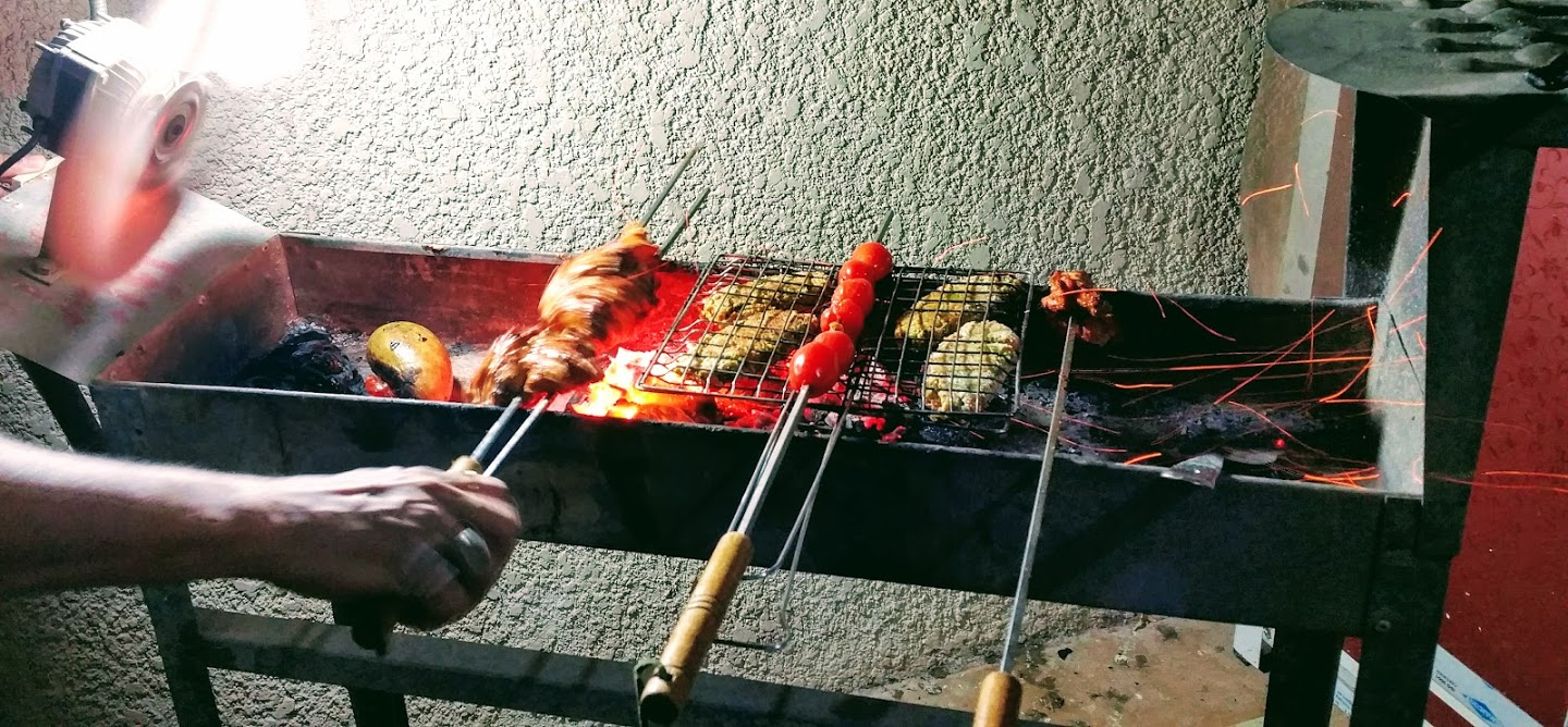 Barbeque at home