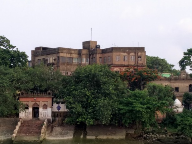 Tagore Castle, Kolkata as seen from the Hooghly river