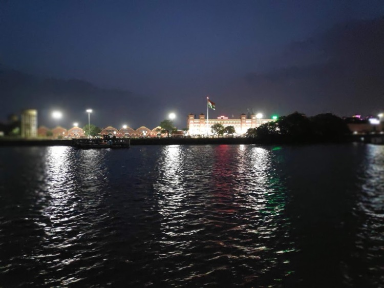 Howrah junction in night
