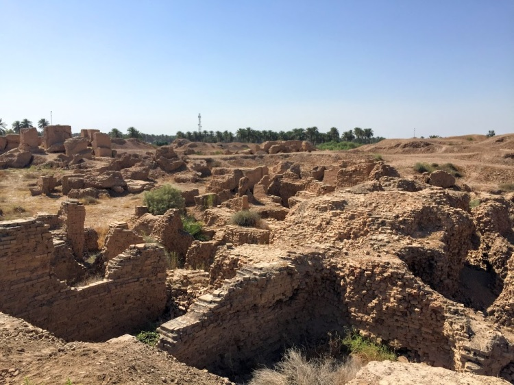 Ruins of the Northern Palace of King Nebuchadnezzar II
