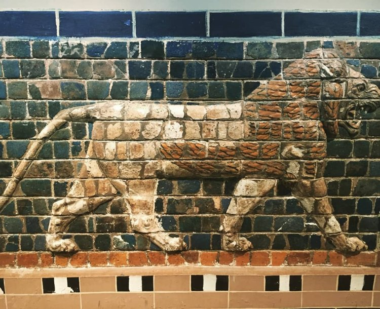 Lion of Babylon on Ishtar gate