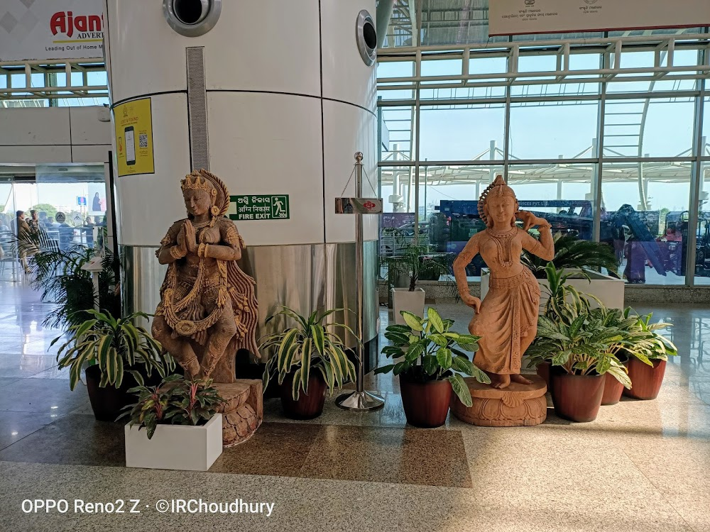 Beautiful Biju Patnaik International Airport, Bhubaneswar